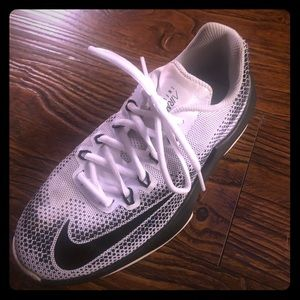Black and white boys Nike's size 5 youth